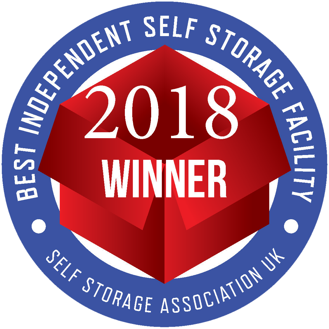 Best independant self storage award 2018